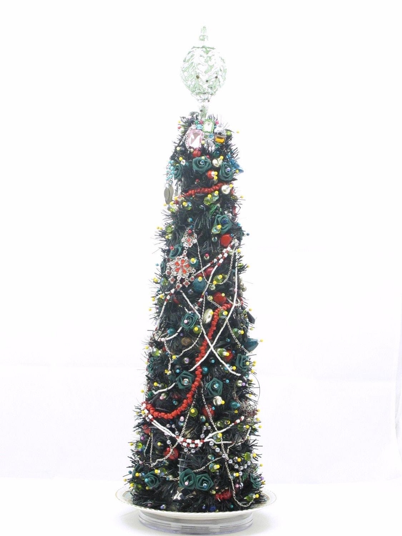 Christmas Tree Centerpiece - / Display  Happy Moon