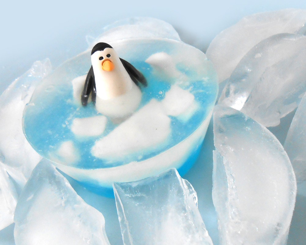 Polar Penguin Soap - Cute Stocking Stuffer for the Penguin Fan