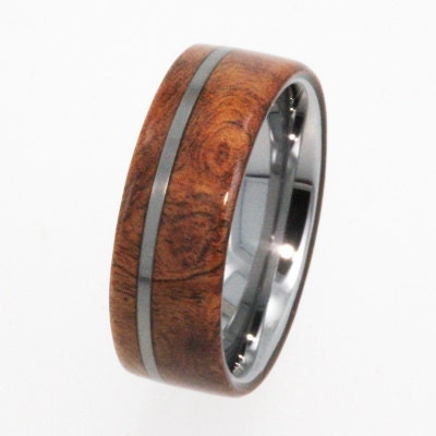 Mens Tungsten Carbide Wedding Bands on Mens Tungsten Wedding Rings   Tungsten Ring Wedding Band   Wood Ring