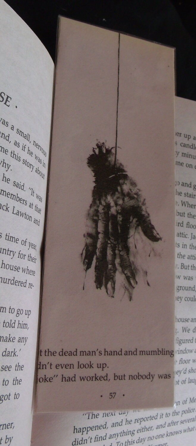 More Scary Stories Bookmark- MSS02 - TurningThePage