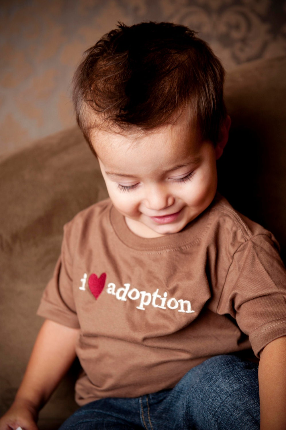 I Heart Adoption Shirt (4T), Adoptions Gifts, Adoption T-Shirts, Birth Mother Gifts, Toddler Adoption T-Shirts
