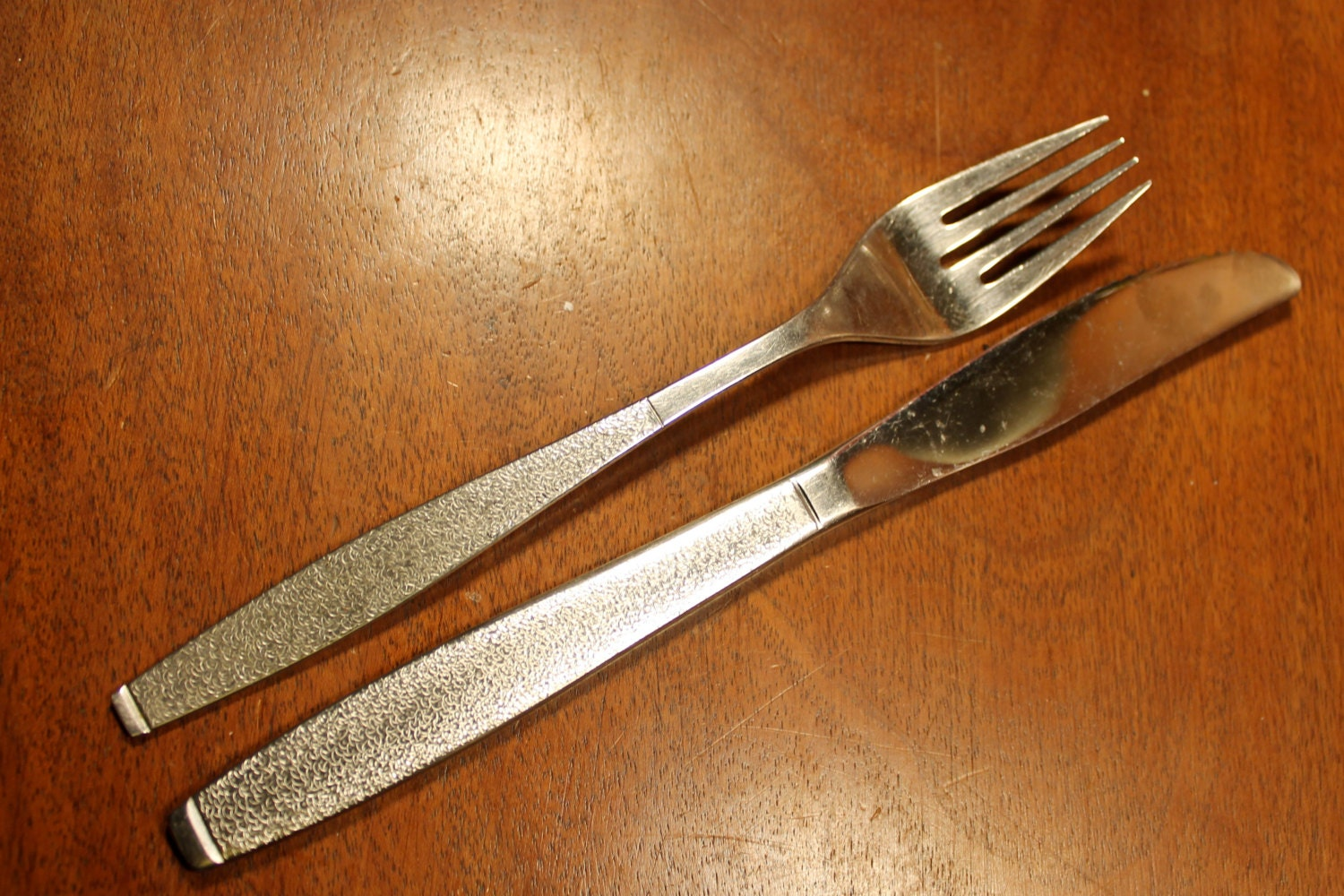 Vintage Flatware by National Stainless in Caress by AtomicHoliday