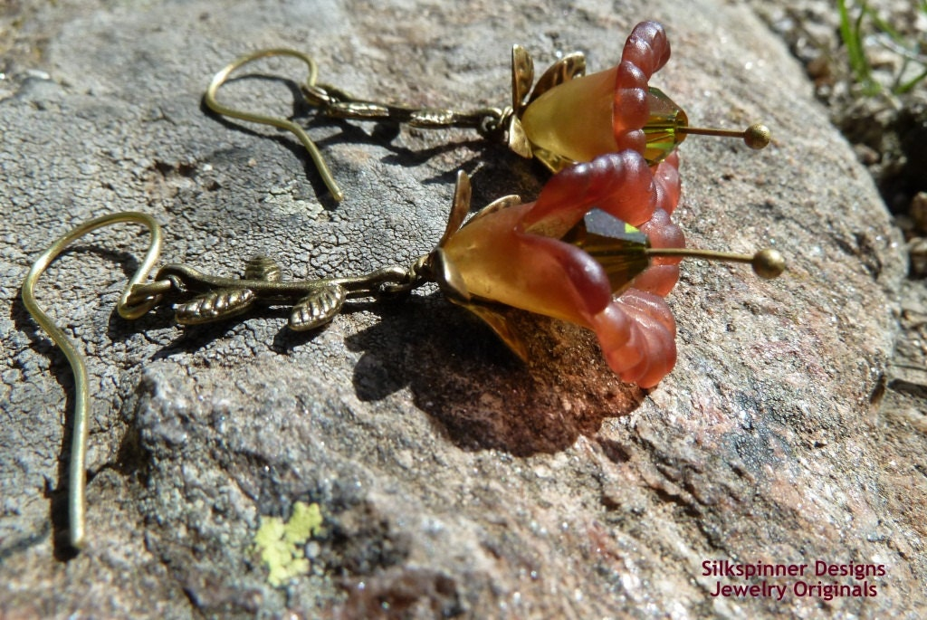 Summer Breeze Earrings/ Ohrhänger Sommerbrise - SilkspinnerDesigns