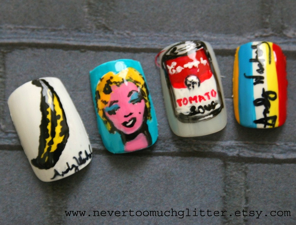 Japanese Nail Art- Pop Art (Custom)