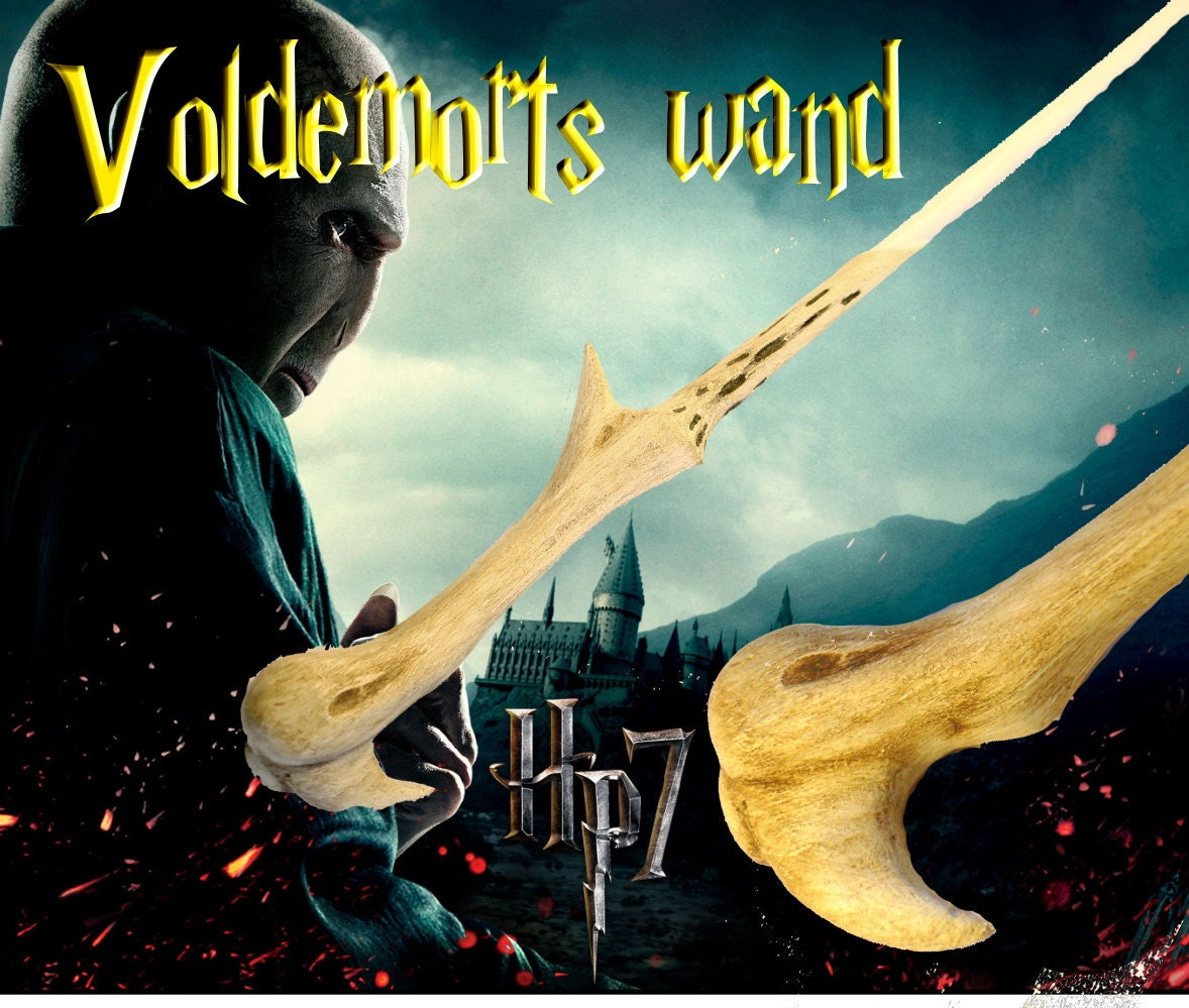 Voldemort wizard Wand superior replica Harry Potter