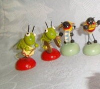 10 Piece Vintage All Bug Band / Feri Bug Band - InTheDay