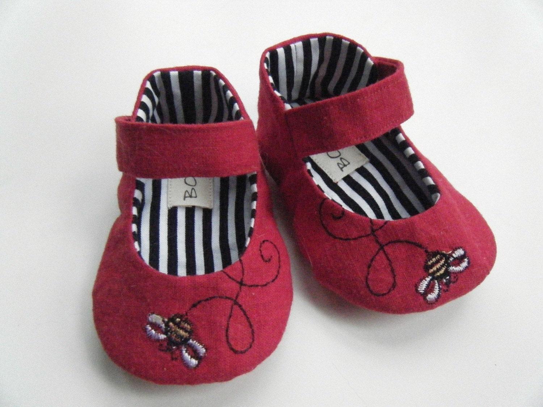 Красное белье BumbleBee Мэри Джейн обувь для вашего ребенка девушка