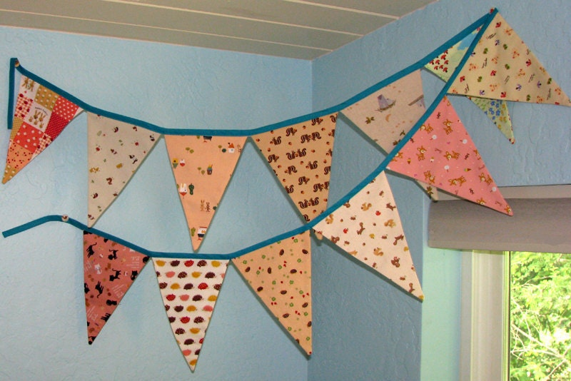 SALE Wee Animal Bunting