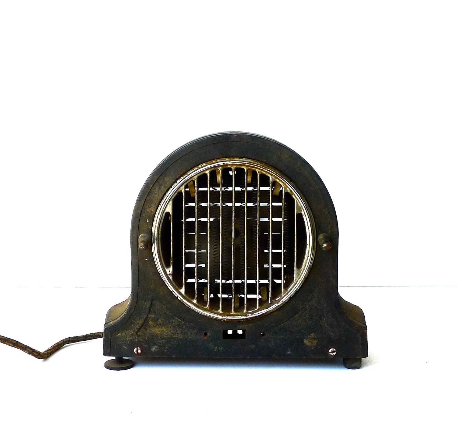 Art Deco Landers Frary & Clark Universal Electric Heater Working - marybethhale