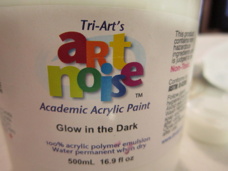 Glow In the Dark Acrylic Paint 1/4 oz pot by CorneliussPick
