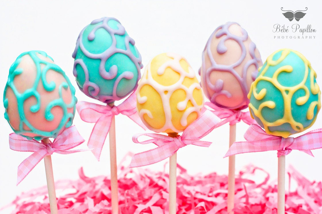Easter Cake Pop Decorations : Lova Revolutionary : Blog: Happy Easter!