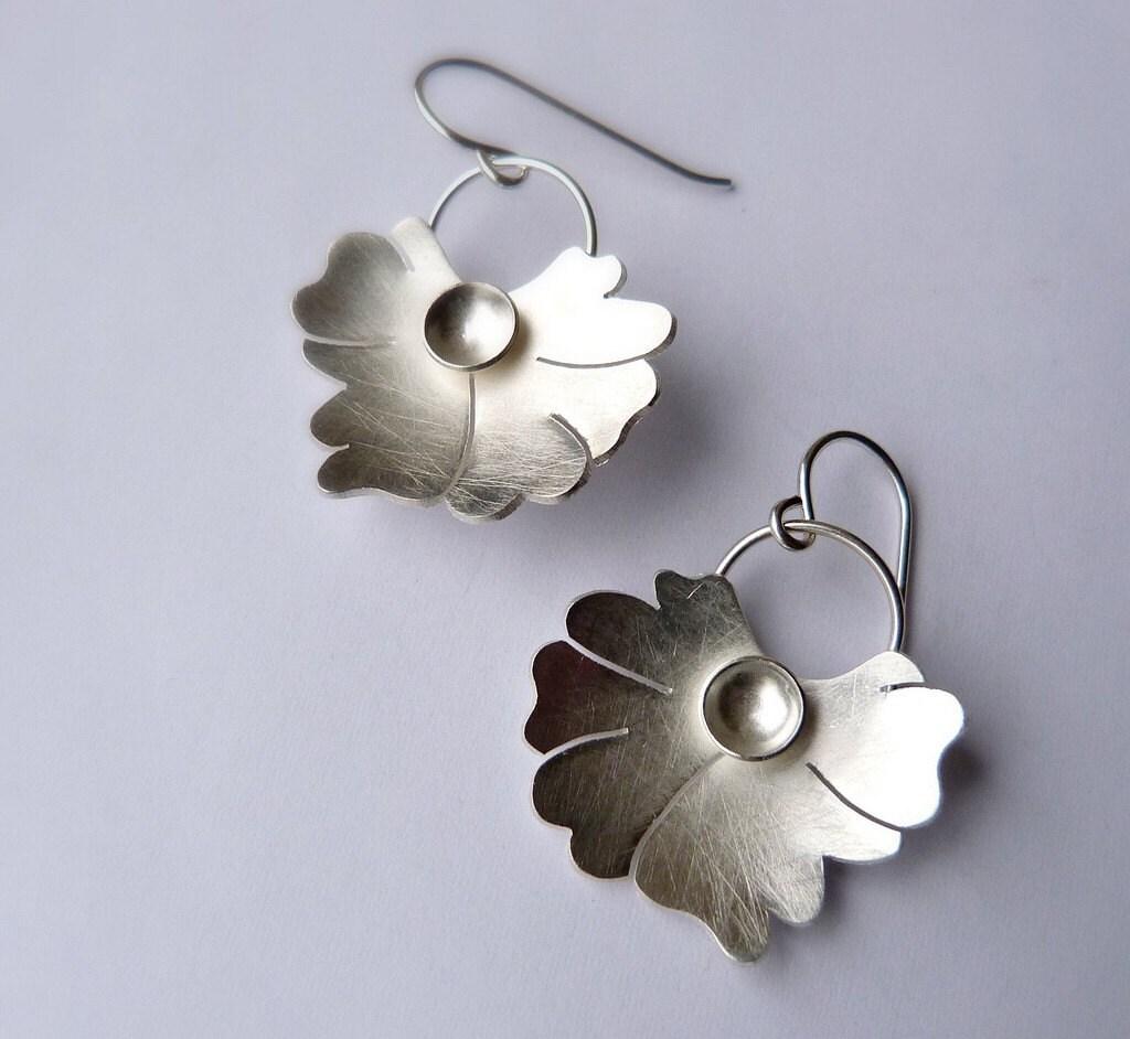 Botanical Earrings number 1
