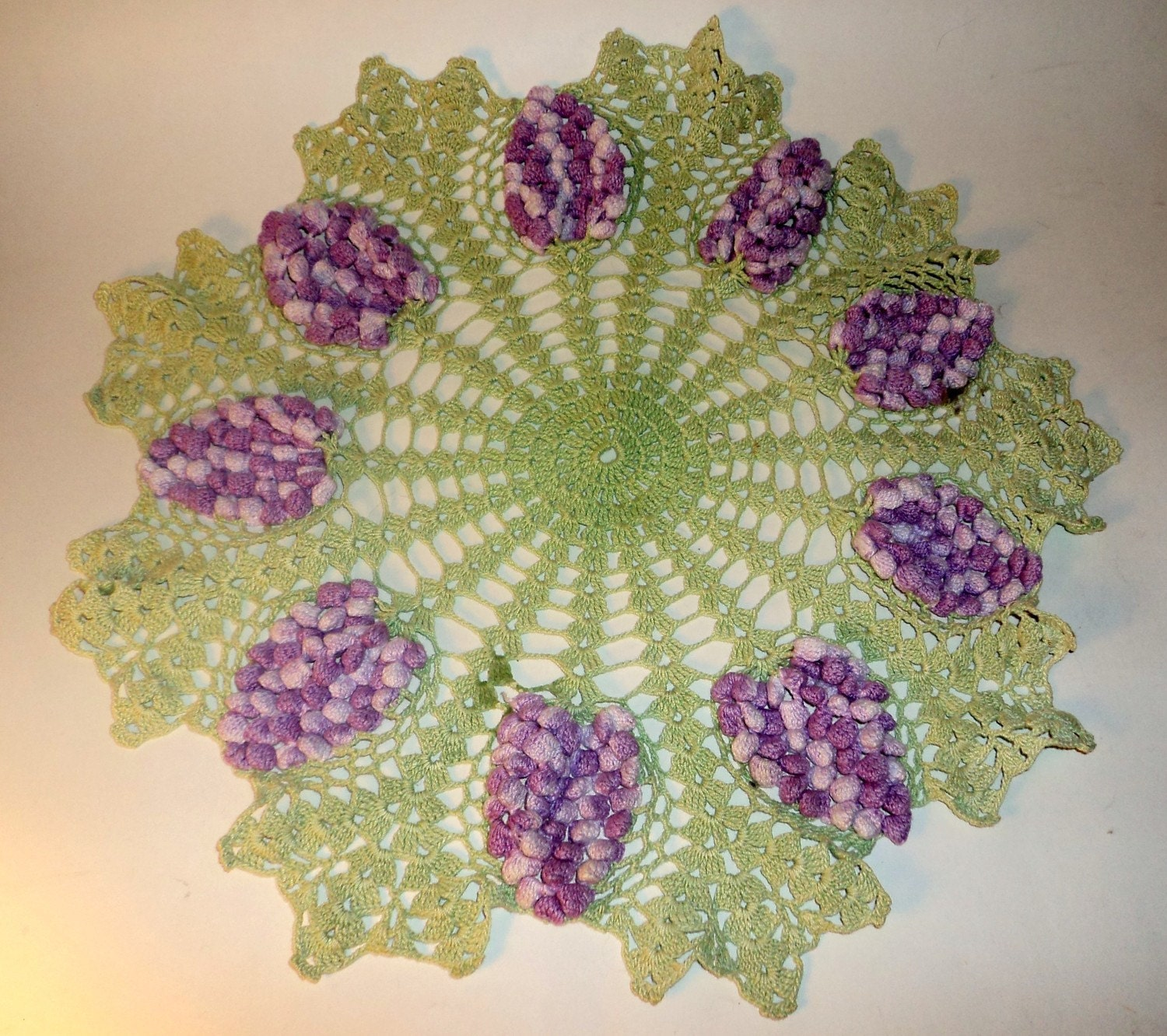 LARGE CROCHET DOILY ? Crochet For Beginners