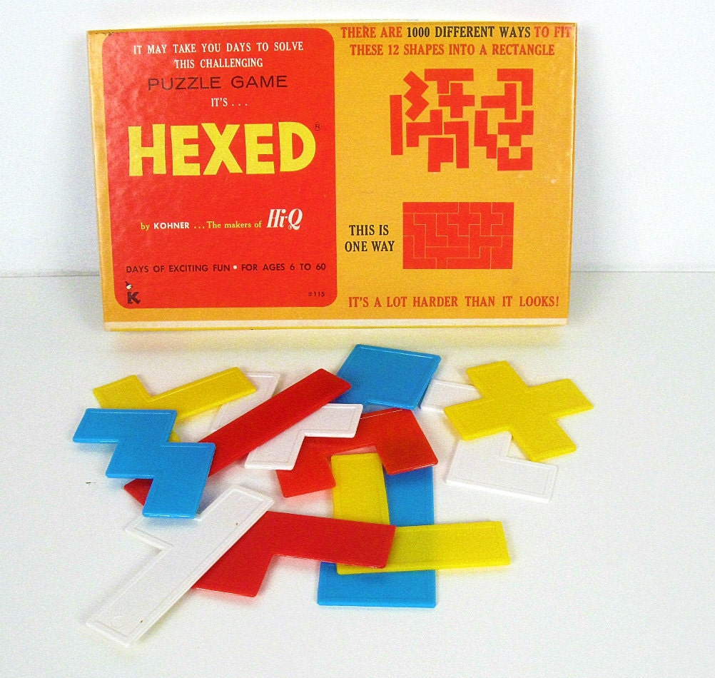 vintage Hexed puzzle game