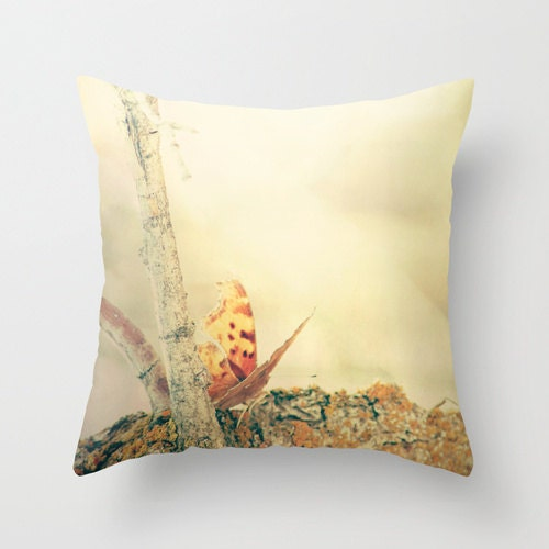Throw Pillow Cover Pretty Butterfly - SylviaCPhotography