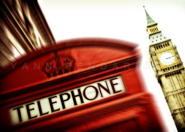 Olympic games - London Red Phone Booth - London calling photography - Urban Wall decor - Fine Art Photography - Print 5x7 (13x18cm) - PhotographyDream