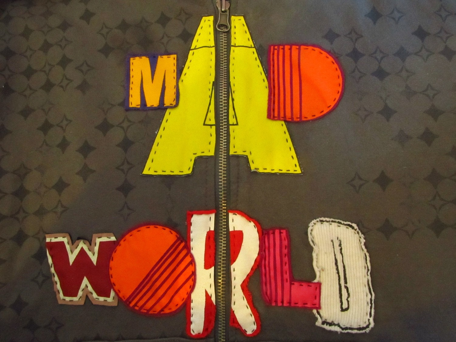 Mad World Upcycled Sweater