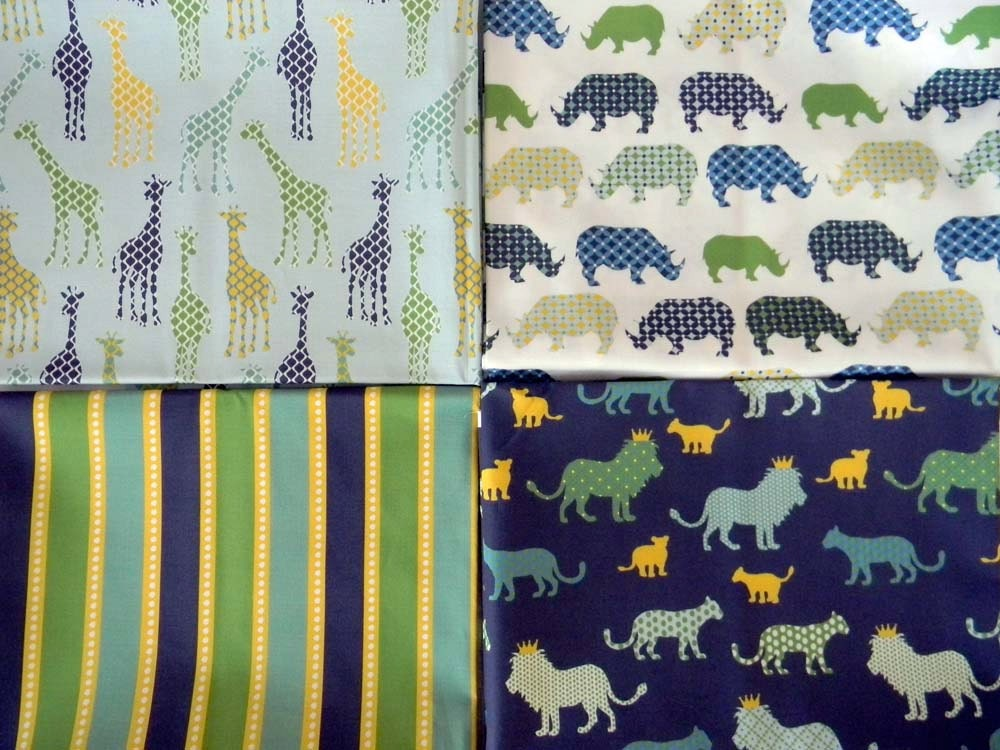 Urban Circus II Fabric - Half Yard SET