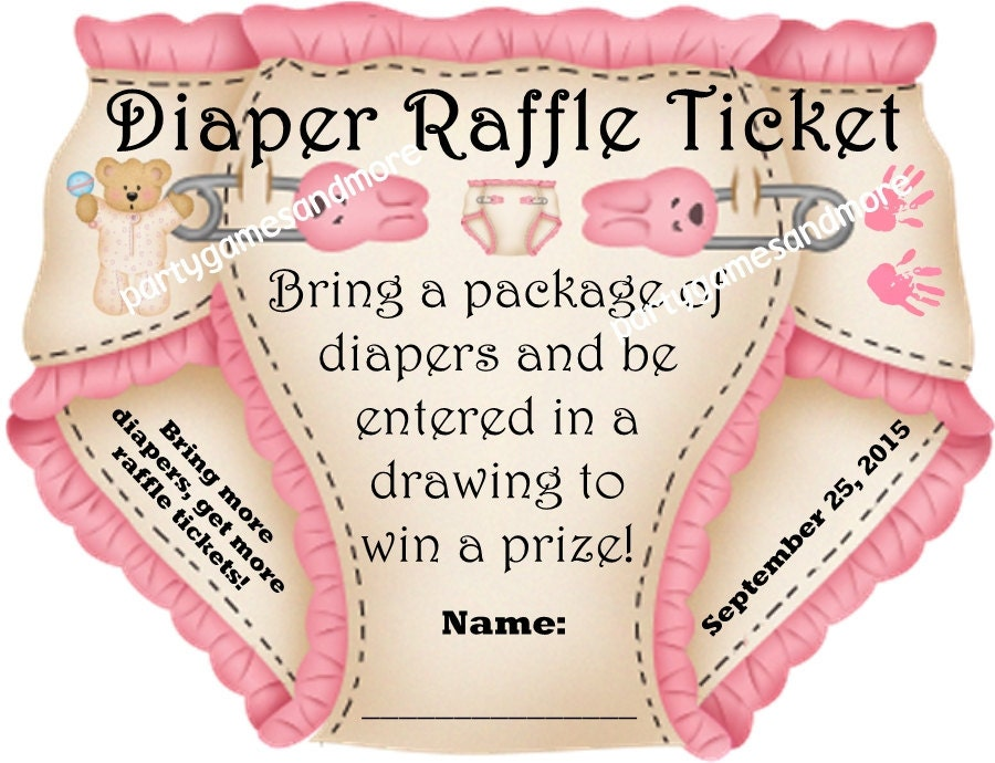 Diaper Raffle Wording Images & Pictures - Becuo