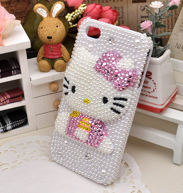 Hello Kitty iphone case , iphone 4 case, iphone  4S case, Apple iphone case,Hello Kitty iphone 4 case