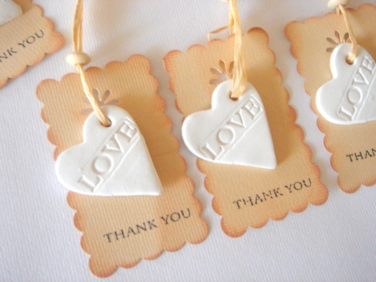 Wedding Shower Favor,Favor Thank you,Rustic Favor Tag,Wedding Ceramic Tags,Baby Shower Favor , Shower Favor, - accessory8