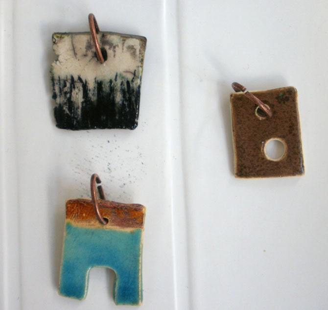 Ceramic pendants- get all 3 - Limited edition - Pendant - Unisex Adults - elsahats