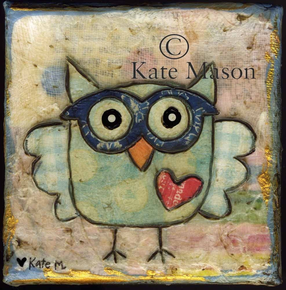 Owl PRINT Hoot Hoot 1 - MessyMissKate