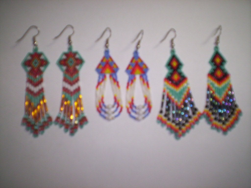 SEED BEAD EARRINGS PATTERNS « Free Patterns