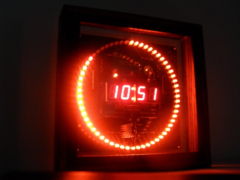 Schema Elettrico Per Accensione Led : Grix forum aiuto per schema elettrico orologio su elettronica