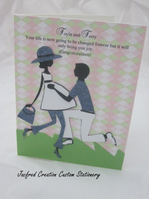 Baby Shower Card for both parents