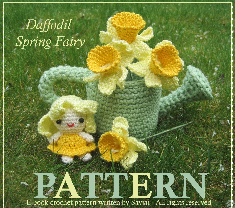 Amigurumi Pattern Daffodil Spring Fairy - PDF