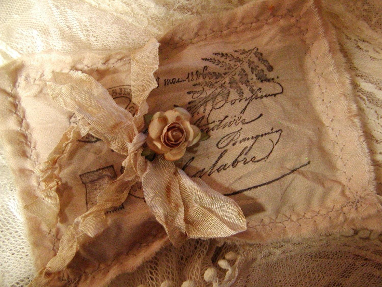 Набор из 3 - французский Пакетики Письмо любви - французский карты Post Script - 014