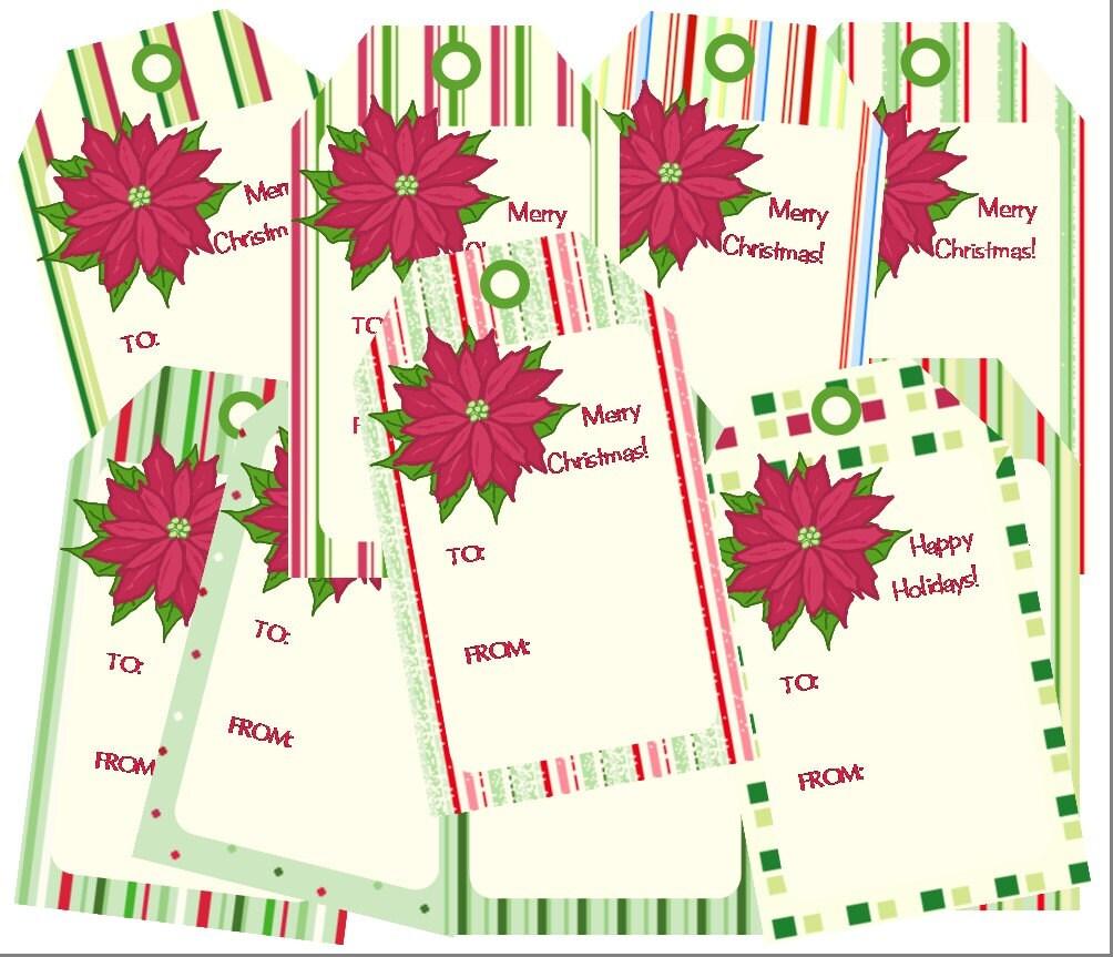 christmas gift tags printable pdf