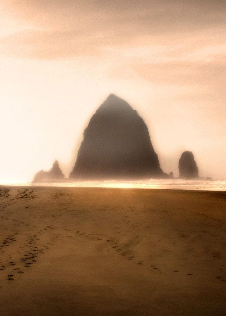 Sentinel - 8 x 10 Oregon Coast - Haystack Rock - Nautical Theme - Limited Edition Print - MyAntarctica
