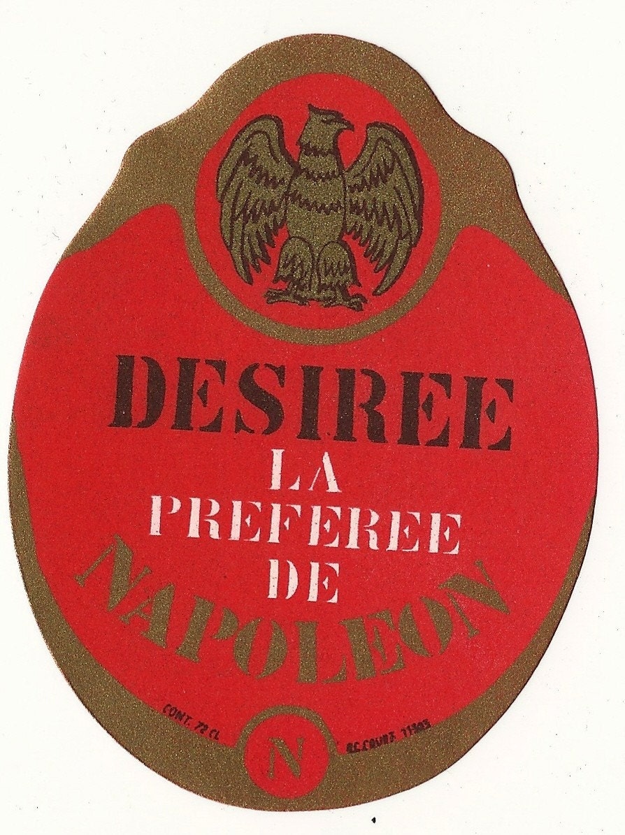 Desiree Napoleon Alcohol Label