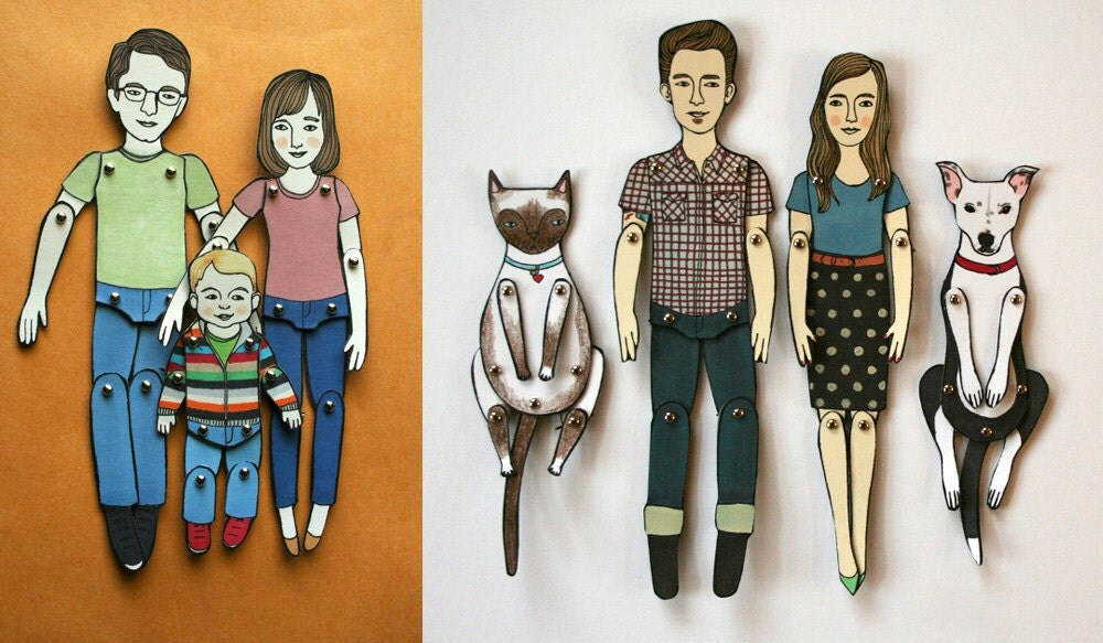 personalized paper doll by jordan grace owens