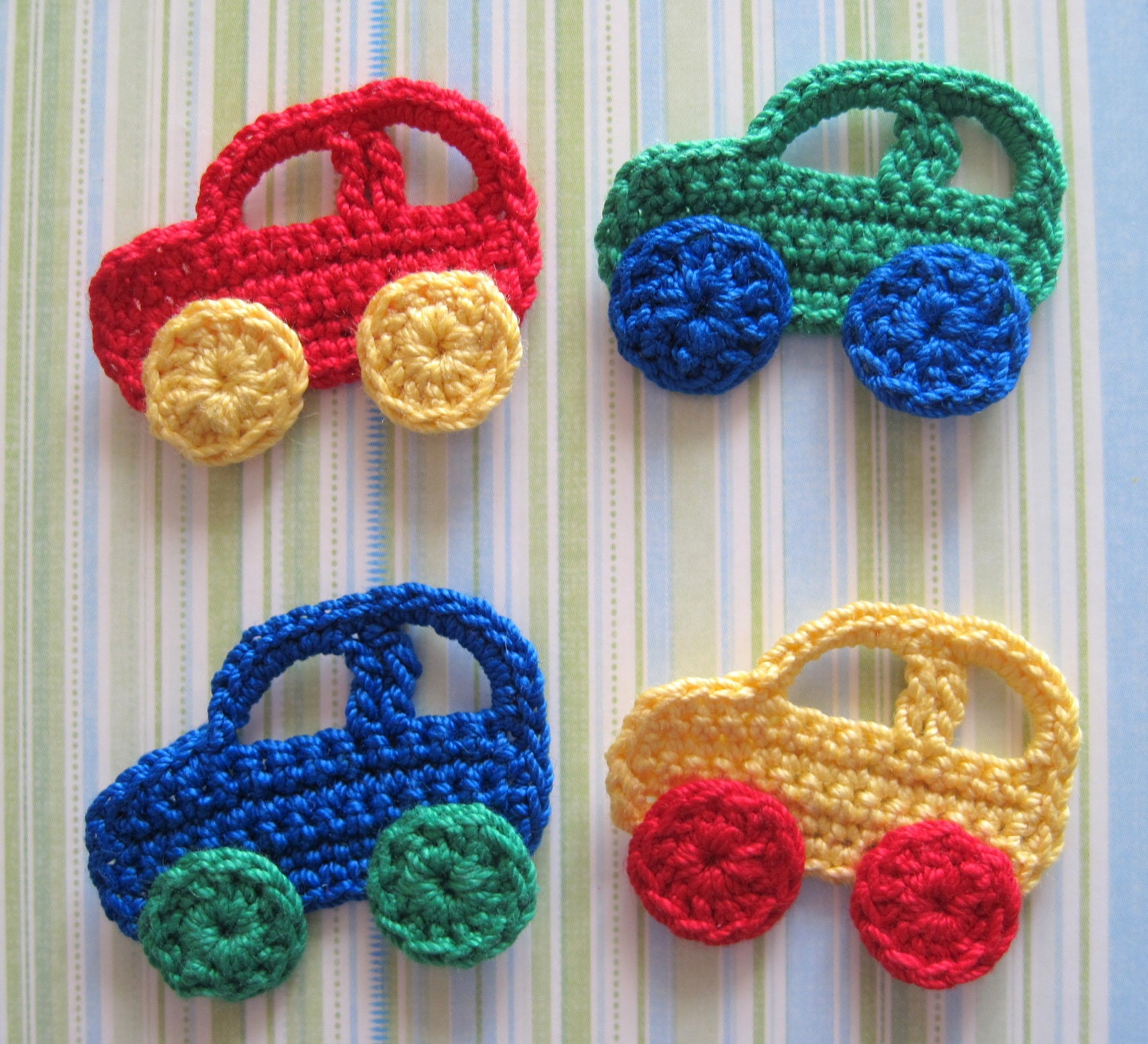 Crochet Applique : crochet free pattern car applique nureffa craft crochet Car Tuning