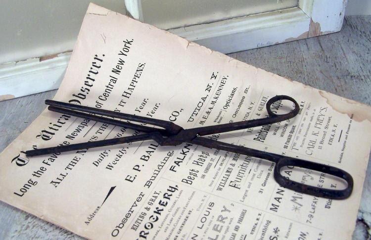 Antique Hair Crimping Iron