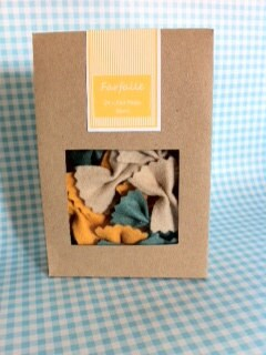 Felt Play Food Farfalle Bow Tie Pasta with Packaging