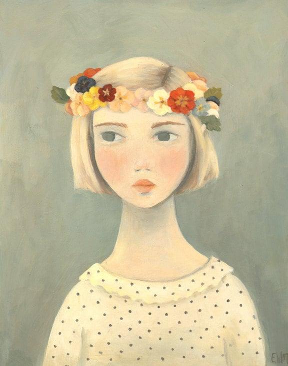 Original Painting : Primrose - theblackapple