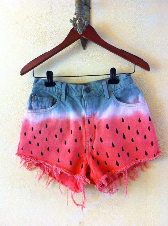 Watermelon shorts  - DIYSS