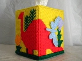 Dinosaur Tissue Box Cover