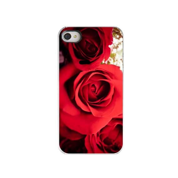 Red Roses, iPhone 4 Case, Love, Romantic, For Her, Floral, Roses, Accessory for iPhone 4/4s