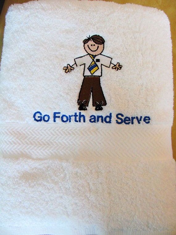 Men's Missionary Towel