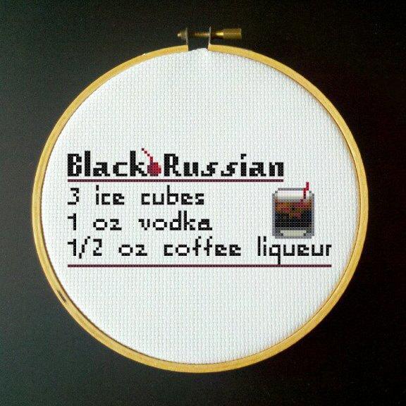 black drink recipe russian