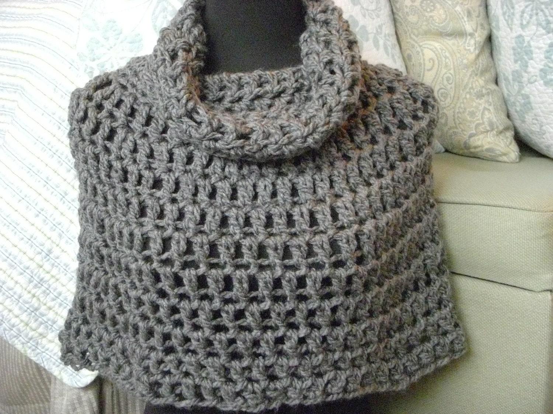 Crochet Patterns Cowl : Bird Nest Cowl Crochet Pattern PDF Original Bird Nest Cowl Crochet