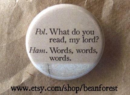Free Essays - Hamlet's Words ::.