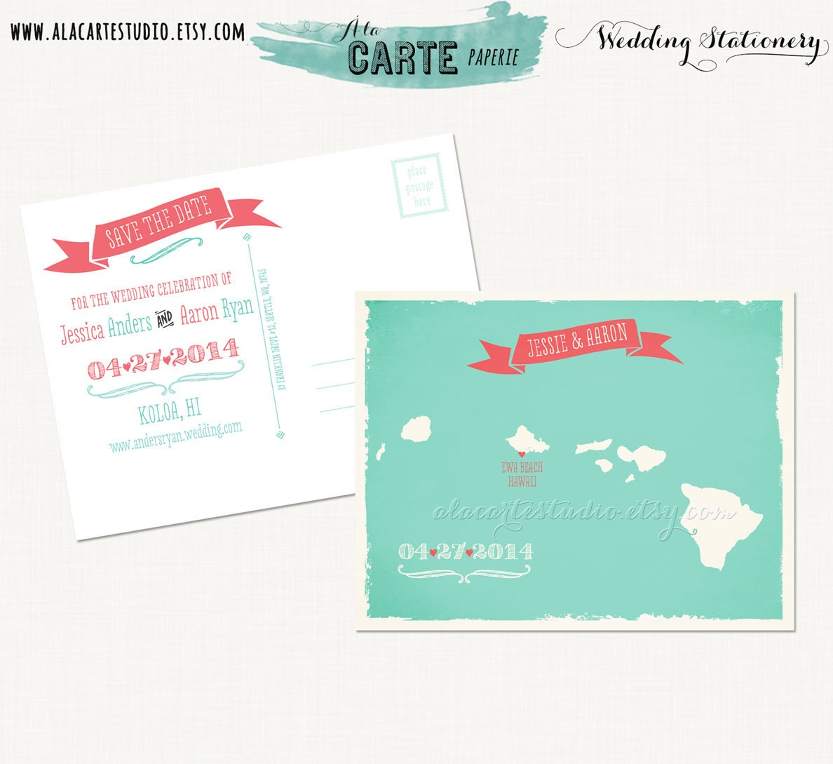 Weddingthemesrus: Coral and Teal Wedding Theme