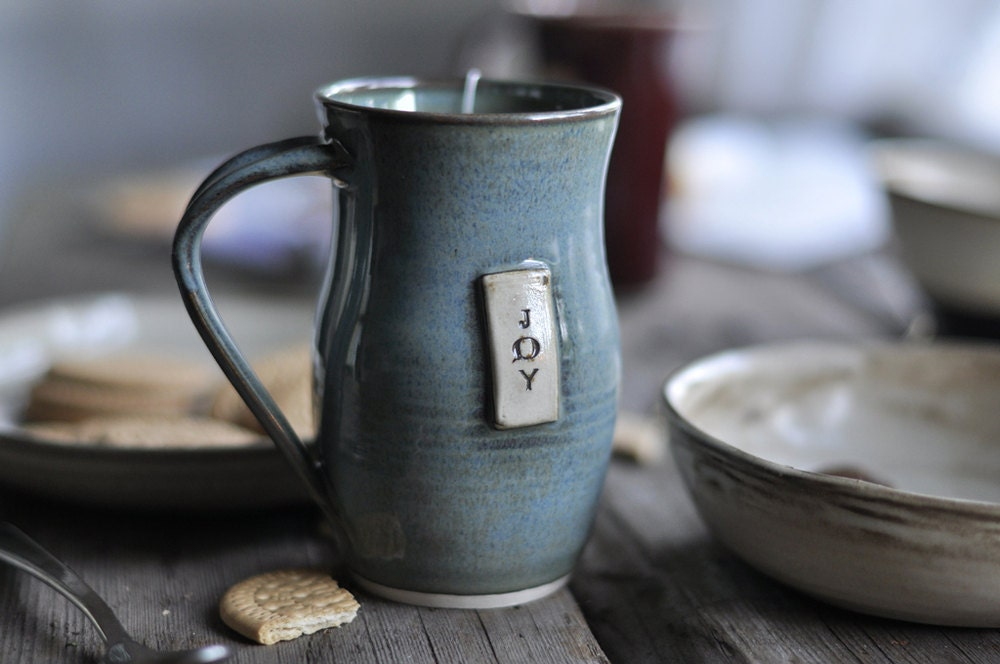 Blue Joy Coffee Mug - JustWork