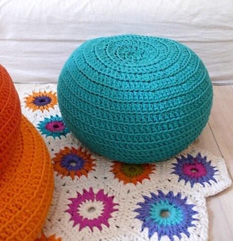 Pouf Crochet - pequena